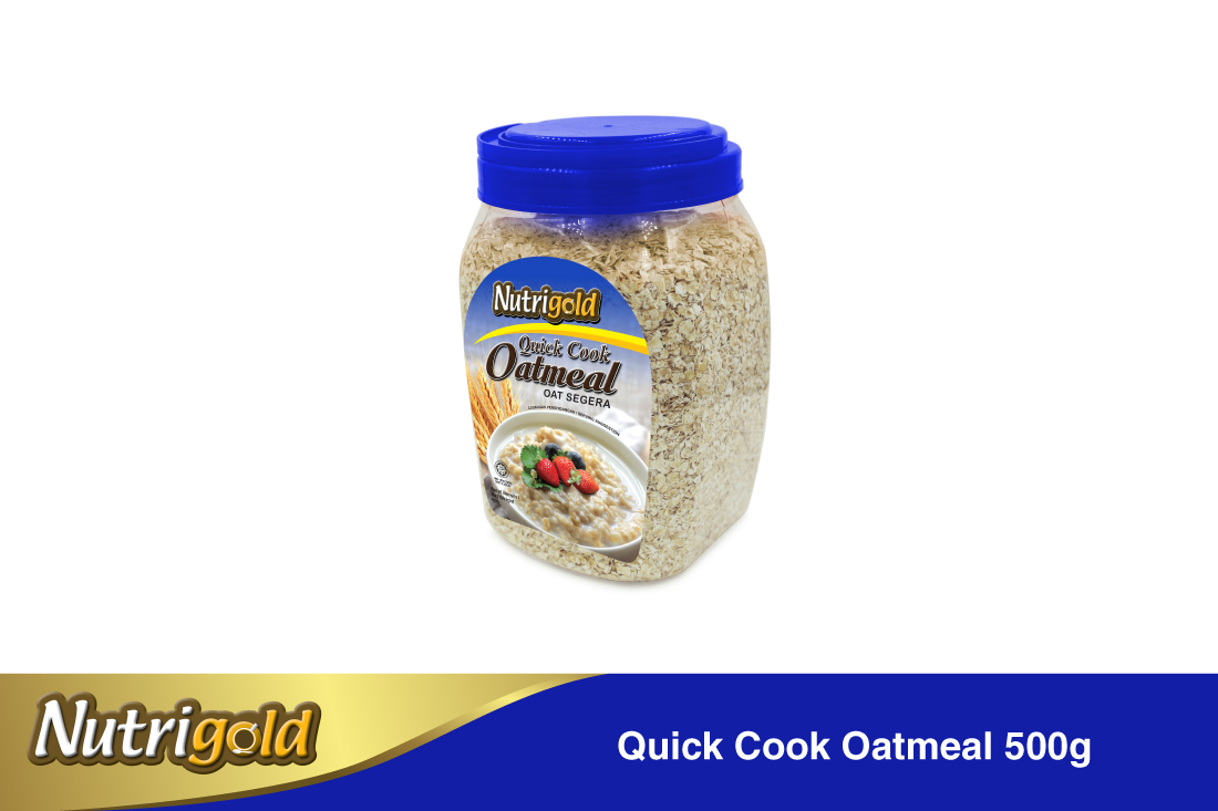 Quick Cook Oatmeal-500g(jar)
